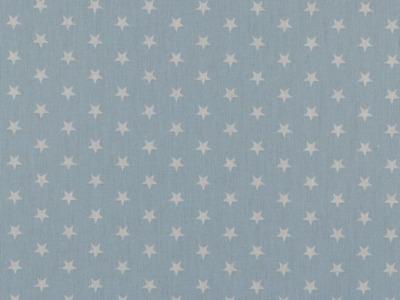 05m BW hellblau Sterne Petit Stars