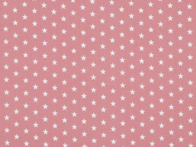 05m BW lachsrosa Sterne Petit Stars
