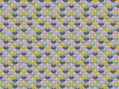 05m Jersey Modernes Ornament lila mint
