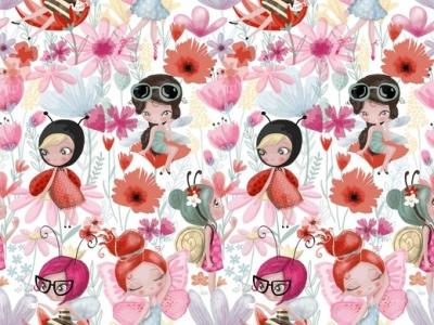 05m Jersey Elfen weiß pink rosa