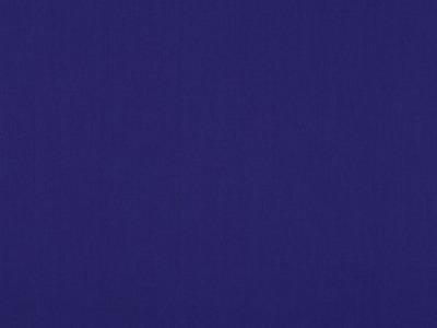 05m Baumwolle Uni kobalt royalblau 045