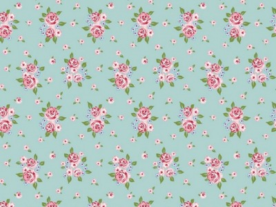 05m BW Delightful Roses by poppy