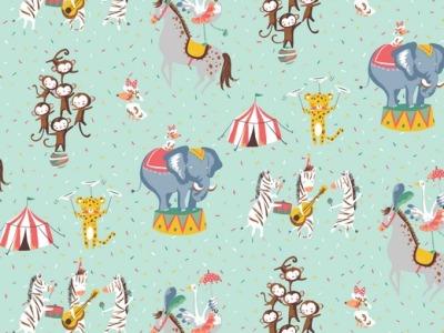 05m BW Magic Circus by poppy
