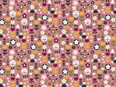 05m BW Happy Feeling Blumenparty lachsrosa