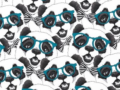 05m Jersey Vera Pandas mit Brille