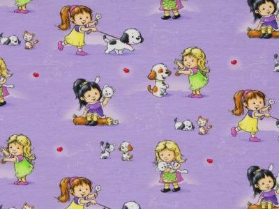 05m Jersey KIMI Mädchen mit Hunden