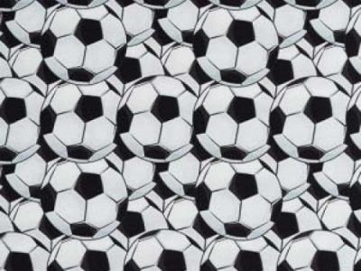 05m Jersey Fußbälle weiß schwarz hellblau