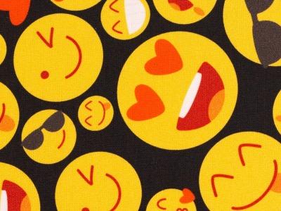 05m BW Kim Smiley schwarz gelb