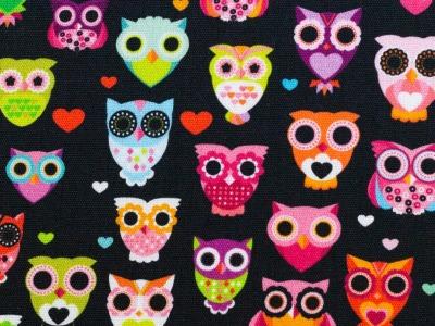 05m BW Kim Eulen Owl schwarz
