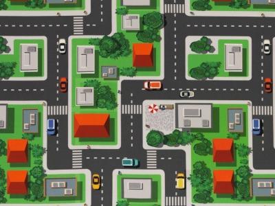 05m BW Kim Straßen Autos Stadt