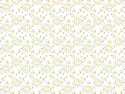 05m BW GOTS Confetti Sprenkel weiß