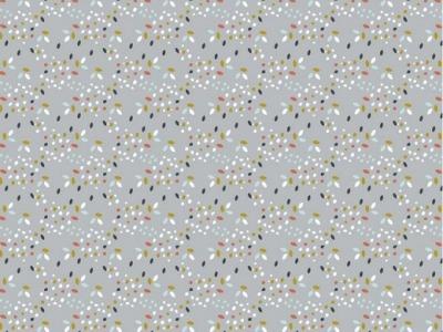 05m BW GOTS Confetti Sprenkel grau