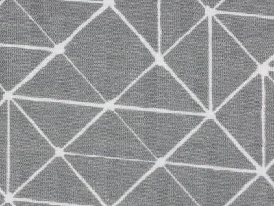 05m Jersey THEO Linien geometisch grau