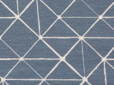 05m Jersey THEO Linien geometisch rauchblau