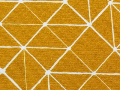 05m Jersey THEO Linien geometisch ocker