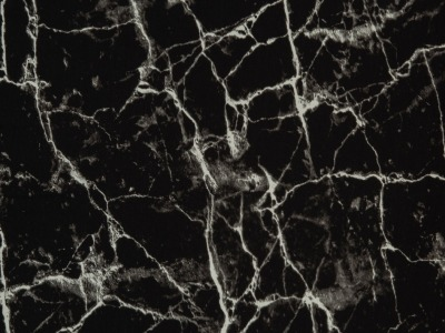 05m Jersey Marmor schwarz weiß Auch