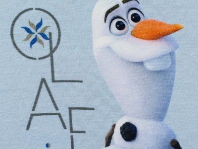 1Stk Jersey Panel Disney Frozen Olaf
