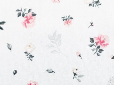 05m BW Sudbina kleine Rosen weiß
