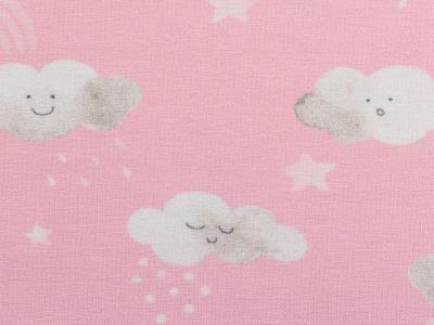 05m Jersey Little Spring Wolken rosa