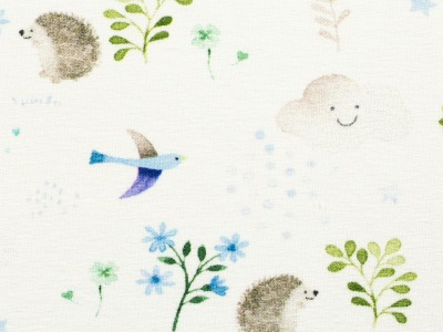 05m Jersey Little Spring Igel Vögel