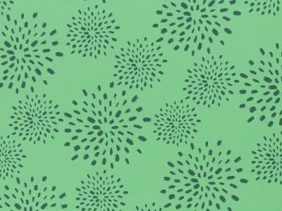 05m Jersey Veronika Flowers grün weitere