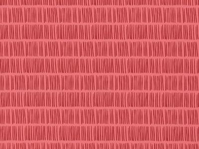 05m Jersey Veronika Striche Stripe koralle