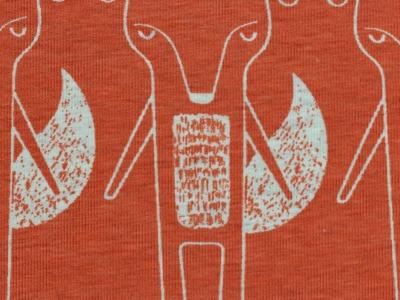 05m Jersey Benno Fuchs meliert orange