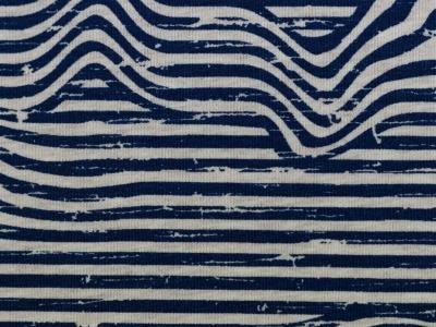 05m Jersey Benno unregelmäßige Streifen meliert