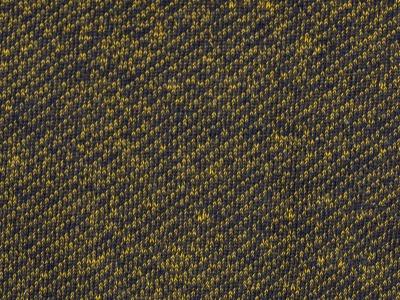 05m Piet Sweat angeraut Jeansoptik dunkelblau/gelb