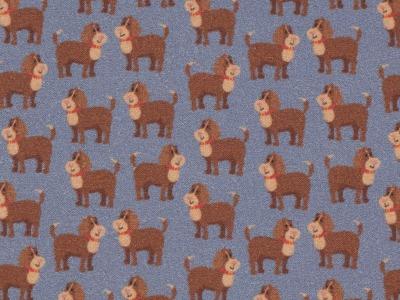 05m BW Toni Hunde Dogs jeansblau