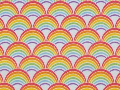 05m BW Toni Regenbogen Rainbow weiß
