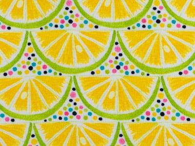 05m Jersey Sun Lemon Zitronen Limetten
