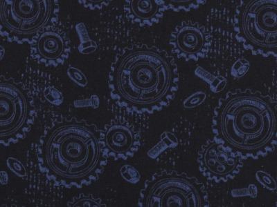 05m Baumwolle Happy Metall by Steinbeck