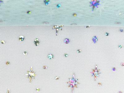 05m Tüll Elsa mit Hologramm Folie