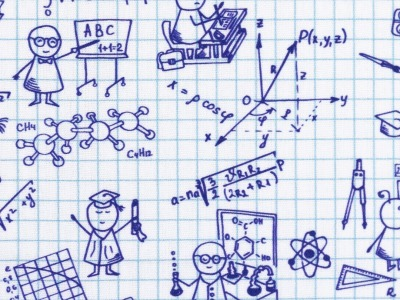 05m BW Kim Kritzel Zeichnungen Karo