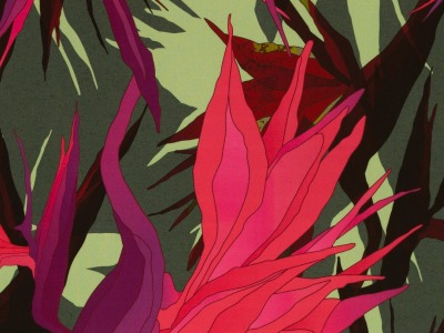 05m Viscose Webware Paradise Bloom by