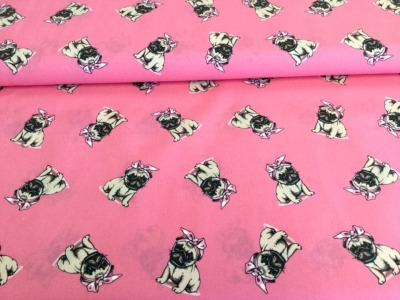 05m BW Stupsi Hund Dog pink