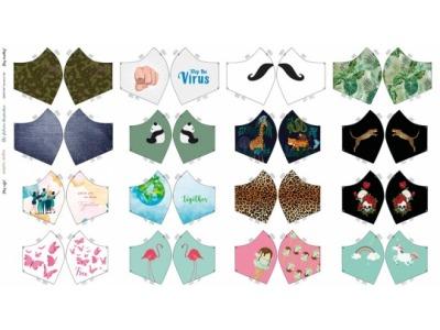 Panel für Masken Best Off Baumwolle
