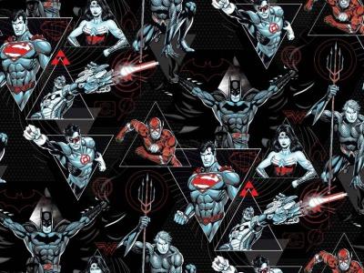 05m Jersey Superhelden Justice League schwarz