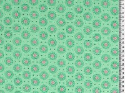 05m BW Organic Cotton Ornament rund
