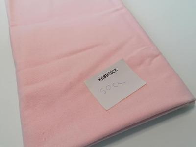 05m Molton rosa - Reststück