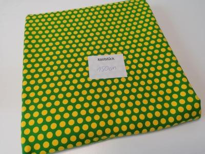 075m Jersey Dots grün gelb