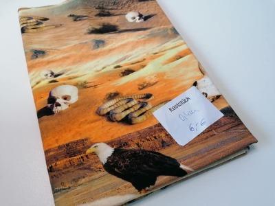 04m Jersey Digitaldruck Wüste braun Reststück