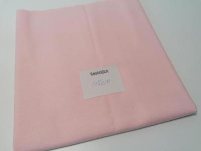 045m Molton rosa - Reststück