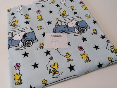 095m Jersey Snoopy Bus Camper hellblau
