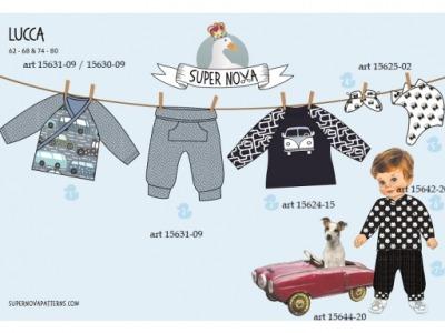 1Stk LUCCA Kinderkleidung Set für Jungs