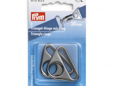 1Pck Triangel-Ringe mit Steg mm Prym