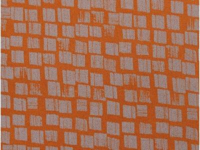 05m Canvas Kästchen rost braun grau