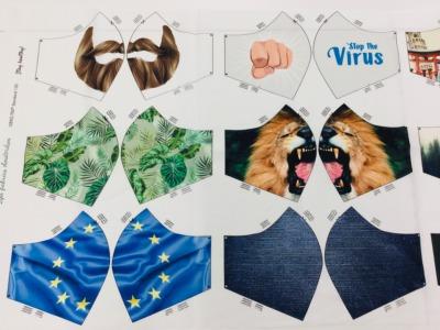 Panel Masken for Men Baumwolle weitere