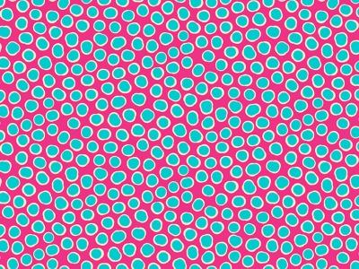 05m BW Fish Spot pink türkis